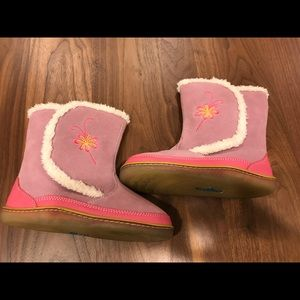 NWOT Kidofit pink suede boots Size 11.5